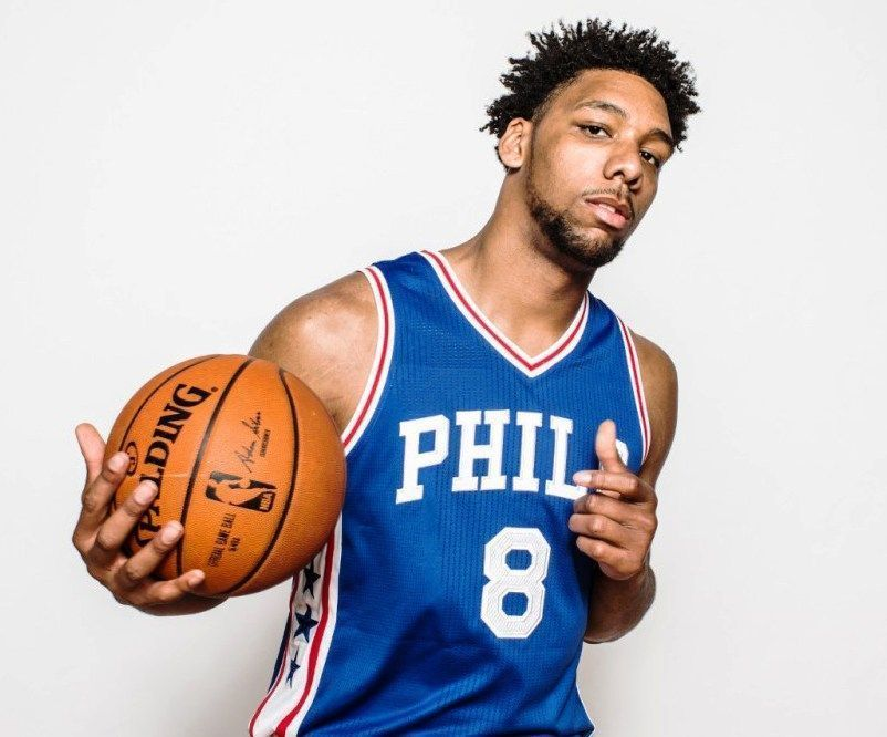 jahlil okafor 76ers sixers 8